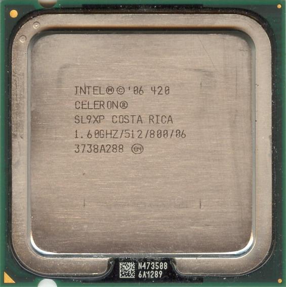 Processador Intel Celeron 420 1.6 Ghz