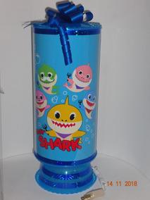 Baby Shark 10 Centros De Mesa Lámparas 38cm Altura Envio Inc