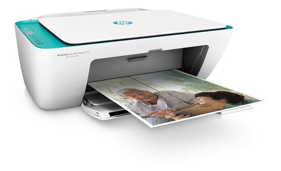 Impressora Multifuncional Wireless Deskjet Ink Hp 2676