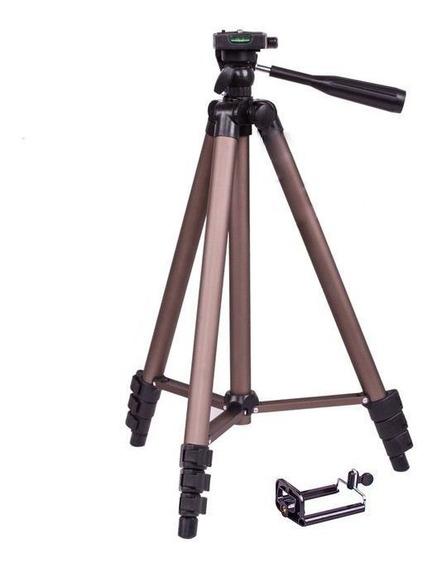 Tripé Weifeng Wt-3130 125cm Para Câmera E Celular