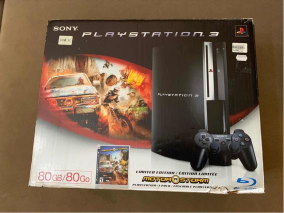 Playstation 3 Fat Caixa Vazia Ps3 Ler Anuncio