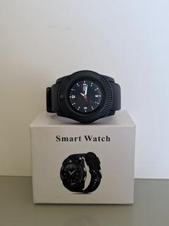 Smartwatch V8 (aceita Chip E Cartão De Memória)