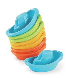 Juguetes De Baño Barquitos Apilables Zippy Toys Bebés Agua