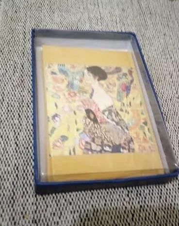 5 Cartões Postais Arte Gustav Klimt - Printed Of Korea