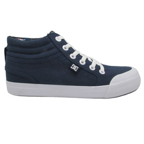 Tenis Dc Shoes Youth Evan Hi Sp Adbs300278 Nvy Navy Azul