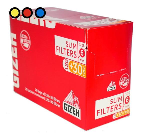 Filtros Gizeh Slim X 20