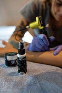 Combo Steel Skin Tattoo Crema 30 G + Spray 30cc Tatuajes