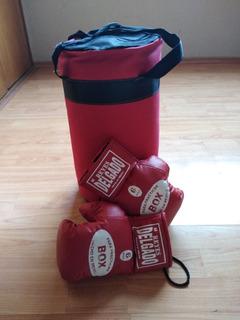 Kit Boxeo Niños 6-8 Años