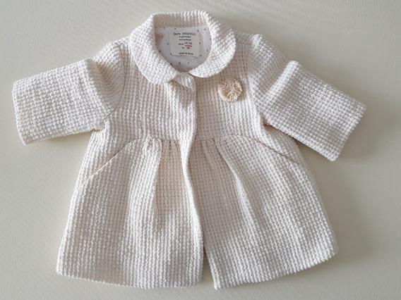 Tapado Zara Baby Girl 12-18 Meses Made In Spain