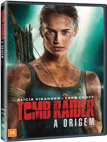 Dvd - Tomb Raider - A Origem - Alicia Vikander - Lacrado