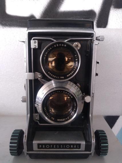 Câmera Antiga Mamiya C33 Ótimo Estado De Conservação