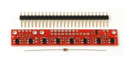 Sensor Infrarojo Seguidor De Linea Qtr-8a O Qtr-8rc