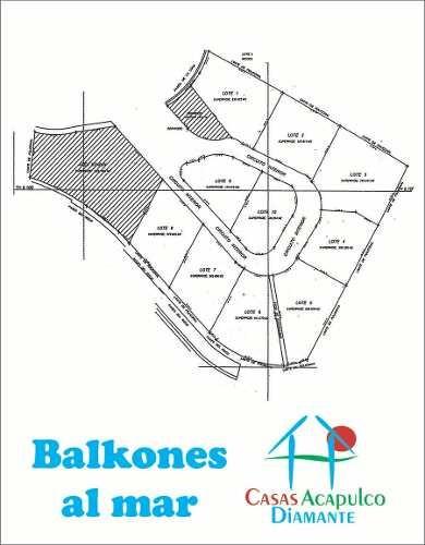 Cad Balkones Al Mar 3. Lote Con Vista Al Mar. Residencial