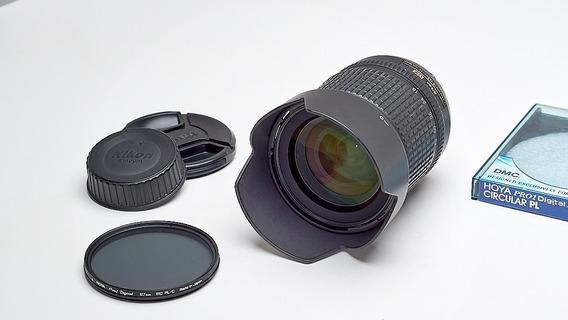 Nikkor 18-135mm Dx + Filtro Polarizador + Parasol!