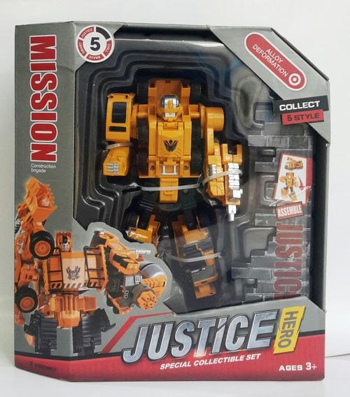 Juguete Robot Transformers 5 Estilos Carro Niño *18v