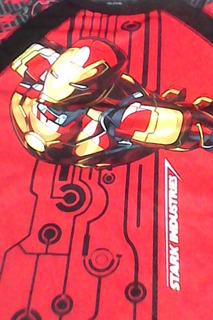 Iron Man 3-marvel -remera Merchadising -talle 14-small-unica