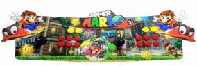 Arcade Fliperama Portatil Com 14 Mil Jogos Desenho Do Mario