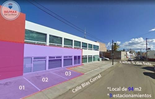 Céntrico Local Comercial En Renta Con Estacionamiento Propio