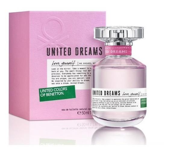 Perfume Feminino Benetton United Dreams Love Yourself 50ml