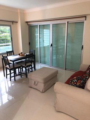 Apartamento De 1 Habitación Amueblado En Gazcue