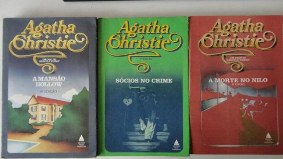 Agatha Christie Lote De 5 Livros