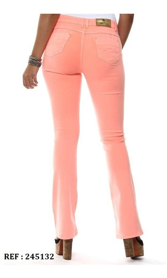 Calça Jeans Feminina Sawary Flare Levanta Bumbum Tamanho 46