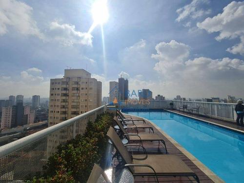 Imagem 1 de 30 de Excelente Apartamento Com 1 Dormitório À Venda, 45 M² Por R$ 410.000 - Santa Cecília - São Paulo/sp - Ap63519
