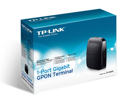 Terminal Gpon De 1 Porta Gigabit Onu Tx-6610