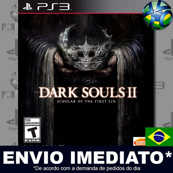 Dark Souls Ii 2 Scholar Of The First Sin Ps3 Psn Legendas Br