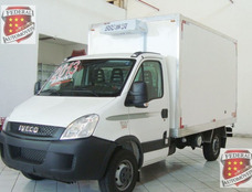 Iveco Daily35s14 Bau Refrigerado 0km Piso Canaletado Em