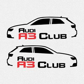 Kit 2x Adesivos Audi A3 Club 20cm Frete Grátis A020
