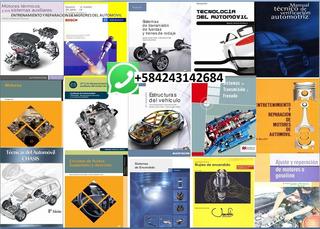 Pack50 Aprenda Mecánica Automotriz Curso 50 Manuales En Pdf.