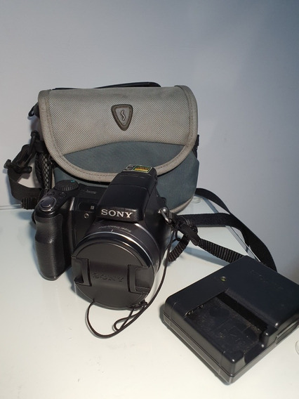Camera Fotográfica Cybershot Sony Dsc-h9 + Bolsa Case