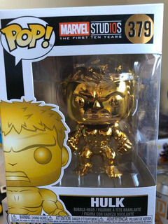 Hulk Dorado Funko Pop! # 379 Marvel