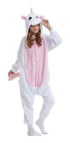 Pijama Enterito Disfraz Unicornio Stitch Kigurumi