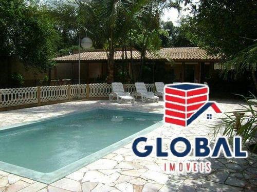 Imagem 1 de 13 de Chácara 2100m², 3 Dormitórios, 2 Banheiros, Cond. Jardim Casa Grande - Ch0002