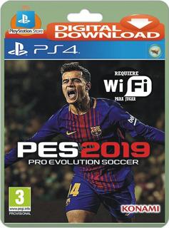 Pes 2019 Pro Evol - Latino - Ps4 - Wifi Mode !!