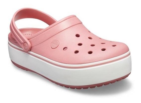 Sandalia Crocs Plataform