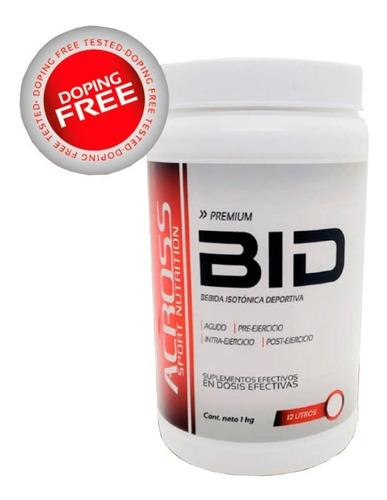 Imagen 1 de 6 de Suplementos Across - Bebida Isotonica Deportiva - Bid 1kg