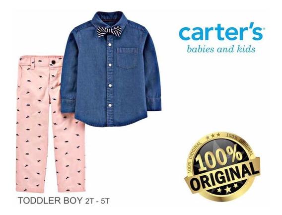 Conjunto Infantil Social Menino Com Camisa E Calça Suspensório Ideal Para Cerimonias Crianças De 2 A 5 Anos