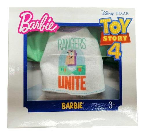 Imagen 1 de 1 de Barbie Ropa Accesorios Toy Story 4 Mattel