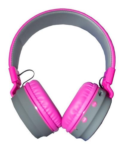 Audifonos Diadema Bluetooth Visivo Vhp-b85bLG Negro