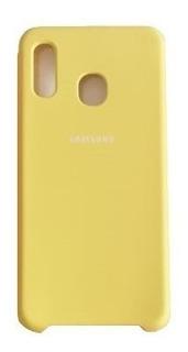 Funda Silicone Soft & Silky Case Samsung A20 A30 A50
