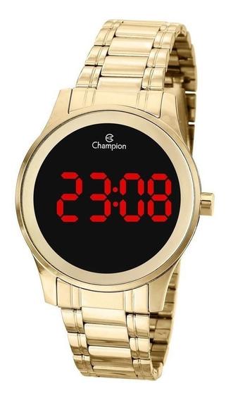 Relógio Feminino Champion Digital Ch48046h - Dourado