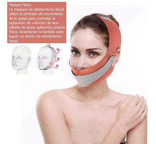 Mascara Reductora Papada Faja Neoprene Anti Arruga Facial