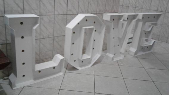 Letreiro Gigante Love Mdf