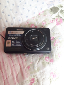 Câmera Fotográfica Hd 720 P Sony Cybershot 16.1 Mg Zoom 10x