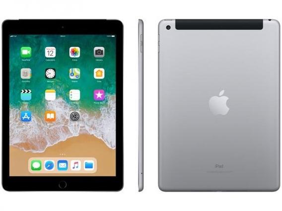 iPad 6 Geração 128gb Cinza Espacial 9.7 - Wii Fii