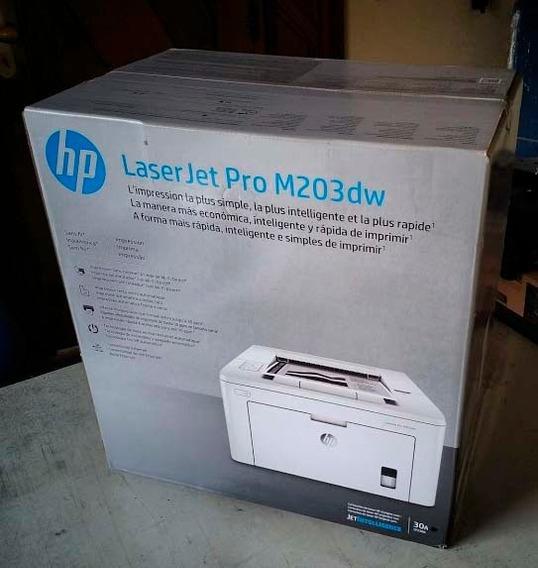 Impressora Hp Laserjet Pro M203dw - 110volts