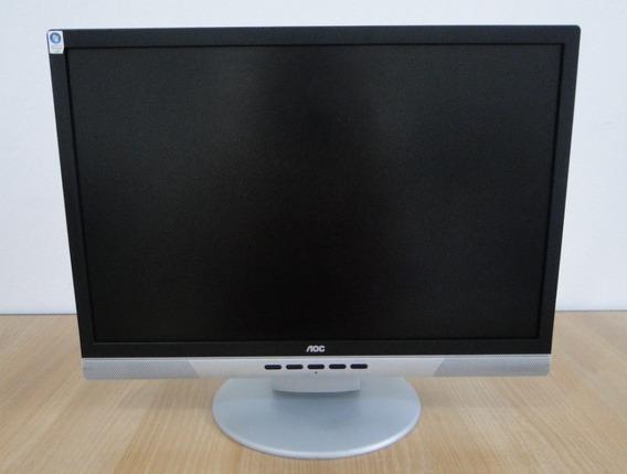 Monitor 18.5 In 1440x900 Aoc 192vwa-p Vga, Dvi 60 Hz C/som